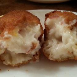 Croquetas de jamón y huevo