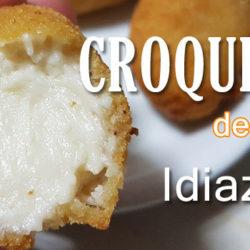 Receta de croquetas de queso Idiazabal