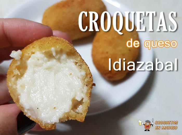 Receta De Croquetas De Queso Idiazabal Croquetas En Madrid